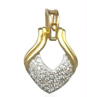 Buy 0.56 Real Natural Certified Diamond Pendant Ingold online