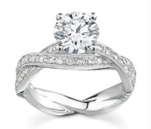 Stunning wedding rings Wedding rings online shop india