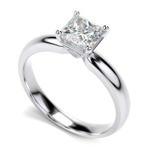 Buy Sheetal Diamonds 0.20tcw Real Round Princess Diamond Anniversary Ring 18k White Gold R0256-18k online