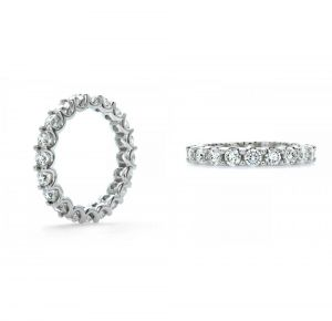 Buy Sheetal Diamonds 1.90tcw Simple Looking Round Diamond Designer Band 14k White Gold R0487-14k online