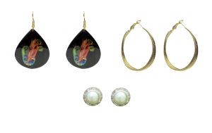 Buy FashBlush Earring Set Sparkling Beauty -Set Of 3Pairs online