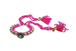Buy Fashblush Forever New Ghungroo Glam Yarn Dazzle Shine Festival Colorful Vibrant Alloy Bracelet online