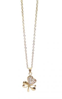 Buy Fashblush Loving Heart Yellow Gold Alloy Pendant online