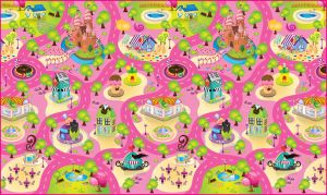 Buy Fashblush Non-woven Free Play Mat Race Track (multicolor, 1 Mat) online