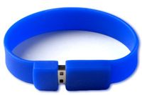 Buy Flintstop Wristband USB 8 GB Pen Drive - Blue online