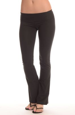 Buy Comfty Ladies Yoga Pants Black Online | Best Prices in India ...
