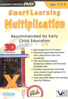 Buy Smart Learning Multiplication DVD Video online