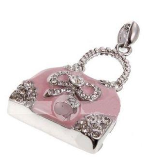 7259153ae Buy Ladies Hand Bag Metal Pink Shape Fancy Pen Drive 16GB Online ...