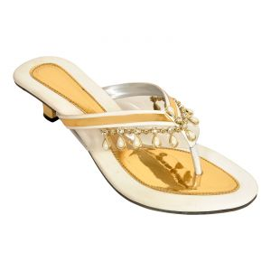 Buy Altek Snazy Designer White Women Heel (product Code - Foot_1351_white) online
