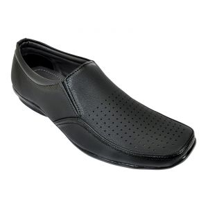 Buy Altek Desginer Plain Black Formal Shoe (product Code - Foot_1420_black) online