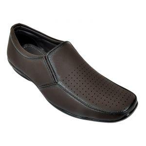 Buy Altek Desginer Plain Brown Formal Shoe (product Code - Foot_1420_brown) online