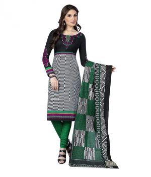 Buy Sinina Cotton Printed Un Stitched Dress Material online