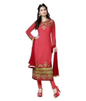Buy Sinina Semi Stiched Georgette Dress Material online