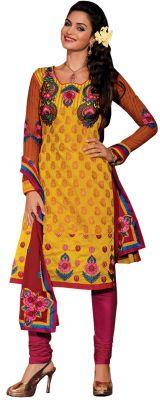Buy Sinina Chandri Cotton Salwar Kameez Suit Unstitched Dress Material-kushi315 online