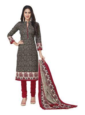 Buy Sinina Cotton Printed Unstitched Dress Material-sgp702 online