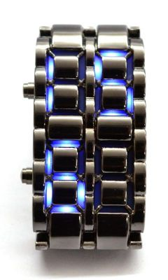 Buy Gizmobaba Gb73-led Faceless Bracelet Design Digital Sports Metal Watch online