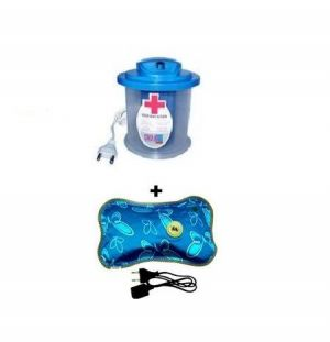 buy omrd combo of steam vaporizer with electric heating pad online