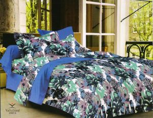 Buy Welhouse India Floral design Cotton king size bedsheet & 2 pillow cover online