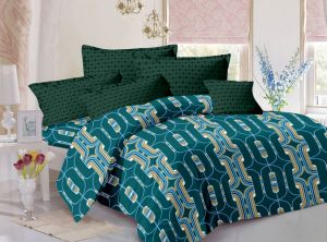 Buy Welhouse India Cotton King Size 1 Double Bedsheet With 2 Pillow Covers (tr_lv-008) online