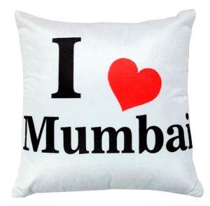 Buy Welhouse I Love Mumbai Cushion Cover Vl_cu-053 online