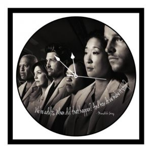 Buy 10 am Greys Anatomy Clock- Acrylic online