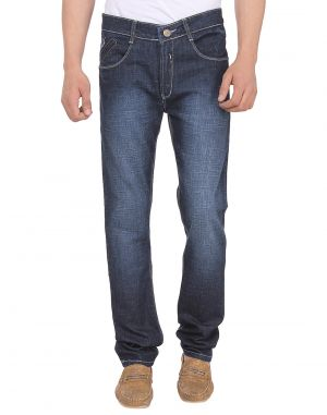 Buy Savon Mens 16114_06 Slim Fit Blue Stretch Denim Jeans For Men online