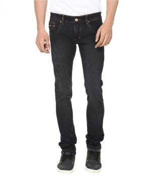 Buy Savon Black Slim Fit Basics Jeans online