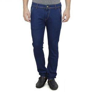 Buy Savon Mens Slim Fit Stretch Trouser Shape Blue Denim Jeans For Men Light Comfortable Fabric (product Code - Sh507110-02) online