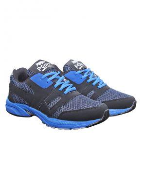 Buy Port Marshal Blue Black Life Style Sports Shoe online