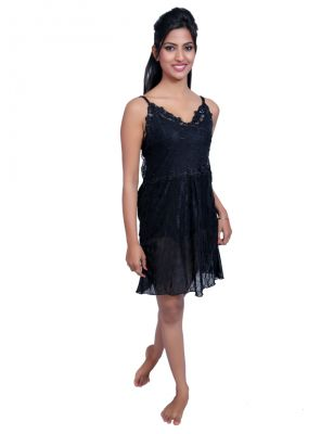 Buy Port Black Nightwear For Women P020_3 online