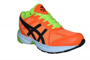 Buy Port Striker Orange Green Gym & Training Sports Shoes online