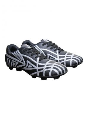 Buy Port Spider Black Stud Football Shoe online