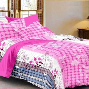 Buy Sai Arpan's Premium Double Bed Sheet With 2 Pillow Covers online