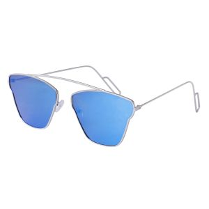 Buy Fast Fox Sky Blue Aviator Sunglass online