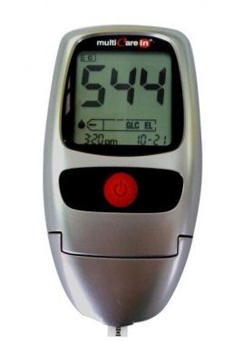 Buy Lipid Profile Multicarein Meter With Cholestrol Strips online