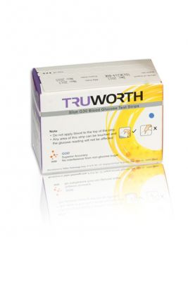 Buy Truworth G-30 Blue Test Strips 50 online