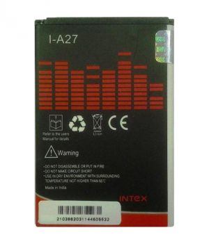 Buy Intex Battery - I-a27 Battery For Micromax (1500 Mah) online