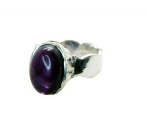 Buy Riyo Gemstone Alloy Silver Cut Out Ring Aspr65-0059 online