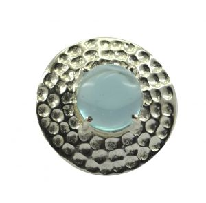 Buy Riyo Gemstone Alloy Silver Delicate Ring Aspr70-0031 online