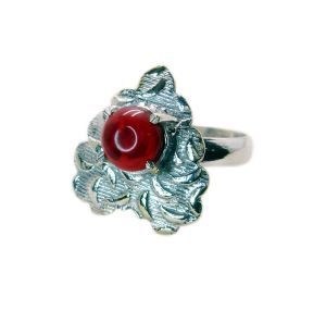 Buy Riyo Gemstone Alloy Silver Exotic Ring Aspr80-0043 online