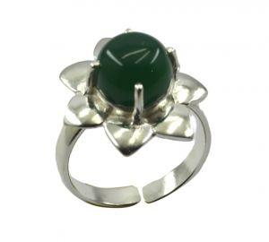 Buy Riyo Gemstone Alloy Silver Flirty Ring Aspr85-0008 online