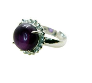Buy Riyo Gemstone Alloy Silver Hypoallergenic Ring Aspr90-0068 online