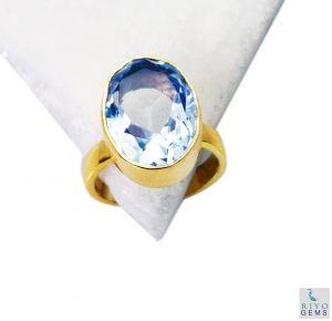 Buy Riyo Alexandrite Cz Gold Plated Set Birthstones Ring Sz 7 Gpralcz7-86021 online