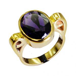 Buy Riyo Amethyst Cz 18 C Gold Plated Bridal Rings Sz 6 Gpramcz6-88004 online