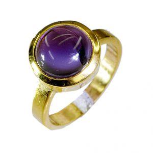 Buy Riyo Amethyst 18k Y Gold Plate Toe Ring Jewelry Sz 5.5 Gprame5.5-2012 online