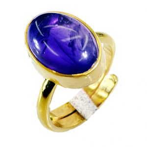 Buy Riyo Amethyst 18.kt Base Matel Nice Ring Sz 6 Gprame6-2019 online