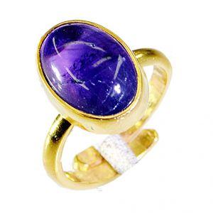 Buy Riyo Amethyst Cheap Gold Plated Regards Ring Jewelry Sz 7 Gprame7-2031 online