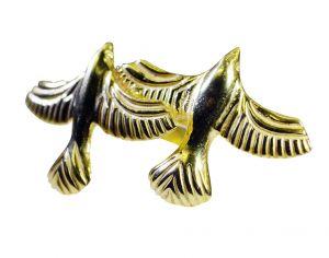 Buy Riyo A Plain 18kt Gold Plated Birds Ring Gprbirr60-140003 online