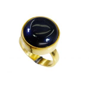 Buy Riyo Black Onyx Wholesale Gold Plate Mothers Ring Sz 5 Gprbon5-6046 online