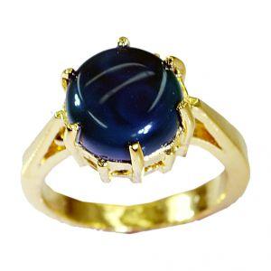 Buy Riyo Green Onyx Rhodium Plate Rosary Ring Jewelry Sz 8 Gprgon8-30067 online